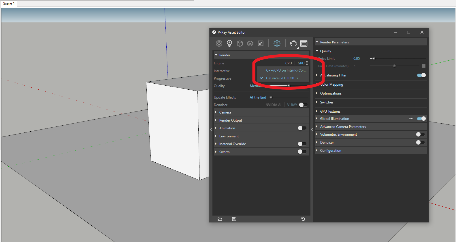 Please Help My Primary 2080ti Card Not Showing Up In List Of Available Gpus For Render In Vray For Sketchup Chaos Forums