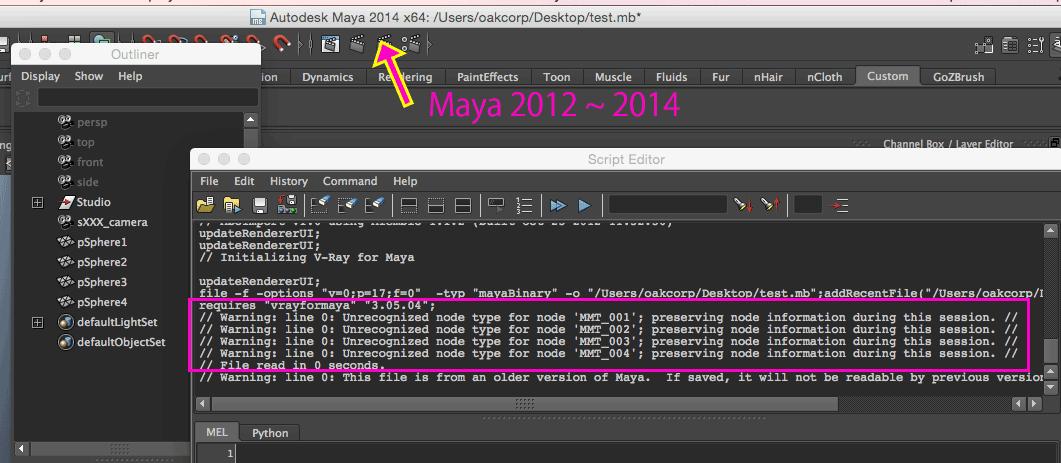 Mac OSX + VRay 3 10 01+ Maya 2013, VRayProperties node is not loaded